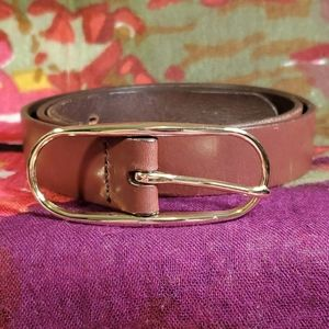 Banana Republic Accessories - 🍁🍂 Banana Republic brown leather belt
